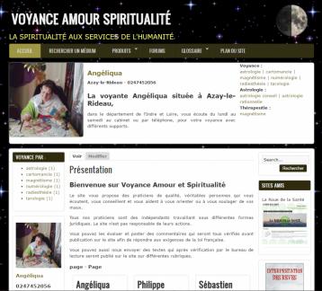 Voyance Amour Spriritualité - Site réalisé par Web-open