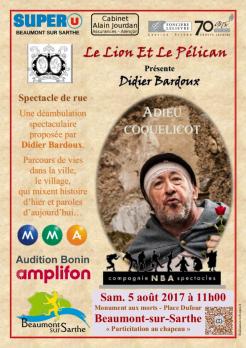 """Imprimé de Web-open : Show poster - """"Adieu coquelicot""""  - Affiche"""