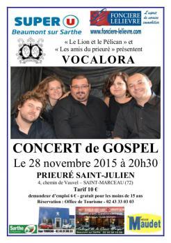 Imprimé de Web-open : Affiche de concert - VOCALORA - Affiche