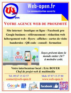 Imprimé de Web-open : Affiche de présentation - Web-open - Affiche