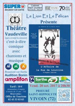 Imprimé de Web-open : Show poster - L'Affaire de la Rue de Lourcine - Affiche