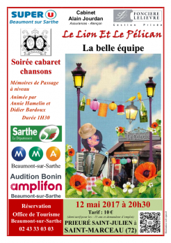Imprimé de Web-open : Show poster - La belle équipe - Affiche