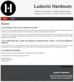 Cabinet Ludovic Hardouin - Site réalisé par Web-open