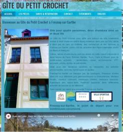 Gîte du Petit Crochet - Site réalisé par Web-open