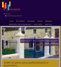 L'Échauguette - Site réalisé par Web-open