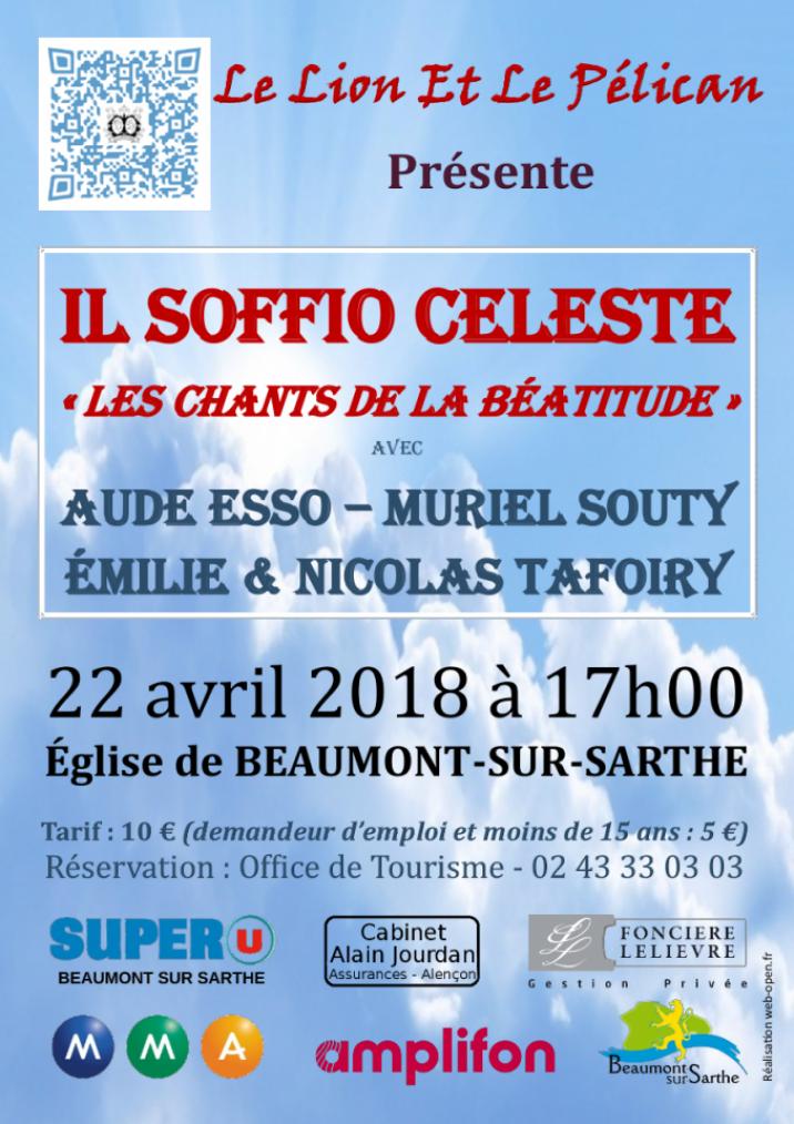 Imprimé de Web-open : Concert poster - Il Soffio Celeste - Affiche