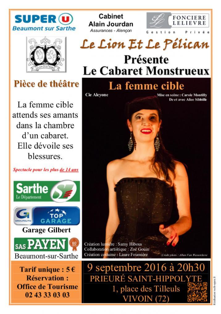 Imprimé de Web-open : Show poster - La femme cible - Affiche