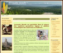 Aromatic Monde - Site réalisé par Web-open