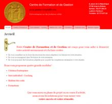 Centre de Gestion et de Formations - Site réalisé par Web-open