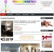 Fernando Energetic - Site réalisé par Web-open