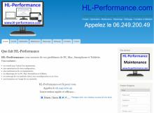 HL-Performance - Site réalisé par Web-open