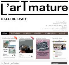 Galerie L'arTmature - Site réalisé par Web-open