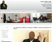 Maître Germain Yamba - Avocat et Docteur en Droit - Site réalisé par Web-open
