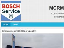MCRM Automobiles - Site réalisé par Web-open
