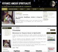 Voyance Amour Spriritualité - Site réalisé par Wen-open