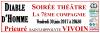 Imprimé de Web-open : Grande banderole de spectacle - Diable d'homme - Banderole